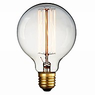 60w retrò lampadina 600lm industria incandescenza caldo stile lanterna bianca e27 (220v-240v)