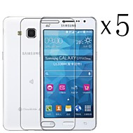 [5-Pack] High Transparency LCD Crystal Clear Screen Protector for Samsung GALAXY Grand Prime G5308/6w/G530h