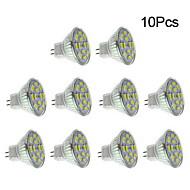 10 pcs GU4 6 W 12 SMD 5730 570 LM Warm White/Natural White Spot Lights DC 12 V