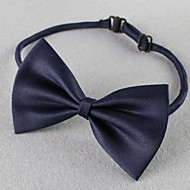 Katzen Hunde Halsbänder Regolabile/Einziehbar Schleife Rot Schwarz Grün Blau Gewebe