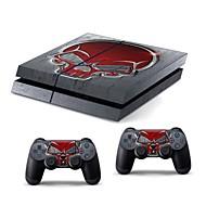 consola PS4 cubierta etiqueta protectora adhesivo controlador de la piel
