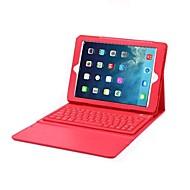 Helfarve PU / Læder , Rød/Sort/Hvid/Blå/Lyserød/Lilla ) - Æble iPad Air