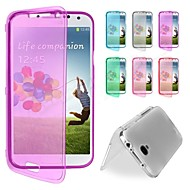 BIG D Touch View TPU Full Body Case for Samsung Galaxy S4 Mini I9190(Assorted Colors)