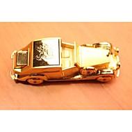 la nouvelle création rétro-cigare de voiture en métal léger or