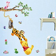 Animals / Cartoon / Romance / Still Life / Fashion Wall Stickers Plane Wall Stickers Decorative Wall Stickers,PVC Material RemovableHome
