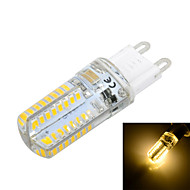 Marsing G9 3 W 64 SMD 3014 250 LM Warm White / Cool White T Corn Bulbs AC 220-240 V