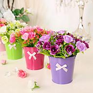 Tak Zijde Rozen Bloemen voor op tafel Kunstbloemen 15*15*16
