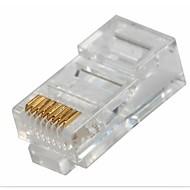 RJ45 Network Crimp Plugs 8P8C (10-pcs retail box set)