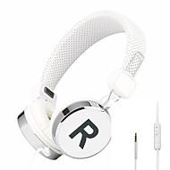 Headphones (Headband) - 헤드폰 - 유선 - 해드폰 (헤드밴드) - 마이크 포함/DJ/볼륨 조절/게임/Hi-Fi/모니터링(감시) - 미디어 플레이어/태블릿/모바일폰/컴퓨터