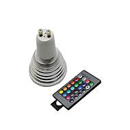 GU10 - 5 Bodová světla ( R GB , Dálkové ovládání )