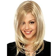 Vrouw Synthetische pruiken Middel Blond Halloween Pruik Carnaval Pruik Natuurlijke pruik Kostuumpruiken
