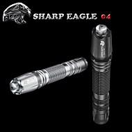 Laser - Vandtæt Oppladbar Nedslags Resistent Glidesikkert Greb Nattsyn Ekstra Kraftig Batteri,3.7v V-Sharp Eagle®