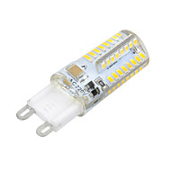 G9 5W 64 SMD 3014 200 lm Warm White / Cool White T LED Corn Lights AC 220-240 V