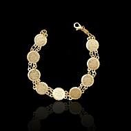 Naisten Amuletti-rannekorut Gold Plated Korut Varten Häät Party Päivittäin Kausaliteetti Urheilu 1kpl