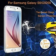 Protetor de Tela - Vidro Temperado à Prova de Explosões/Resistente ao Pó/Impermeável - para Samsung Samsung Galaxy S6