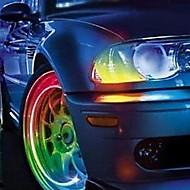0.5 Dekorations Lys (Farveskiftende 30-50 lm- Batteri V- 2 stk