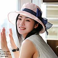 Femei Drăguț/Informal Vara Poliester Pălărie cu Boruri Moi