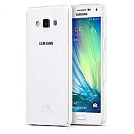 Na Samsung Galaxy Etui Ultra cienkie / Przezroczyste Kılıf Etui na tył Kılıf Jeden kolor TPU SamsungA5(2016) / A3(2016) / A9 / A8 / A7 /