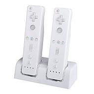 abs rechargeable / chargeur en plastique pour la télécommande Nintendo Wii