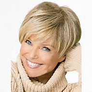 Short Hair Wigs White Women European Synthetic Black Women Wigs Natural Short Wigs
