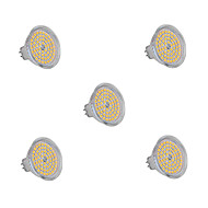 5Pcs MR16(GU5.3) 6W 60x2835SMD 720LM 2800-3200K/6000-6500K Warm White/Cool White Light LED Spot Bulb (200-240V)