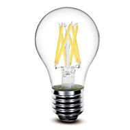 sml E26/E27 6 W 6 X COB 650 LM 2700k K Warm White A Globe Bulbs AC 220-240/AC 110-130 V