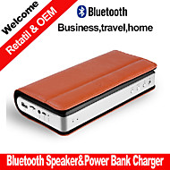 besteye® επιχειρήσεων φορητό ηχείο Bluetooth στερεοφωνικό w / τράπεζα δύναμης λειτουργία αναπαραγωγής Bluetooth Micro SD aux pc ομιλητής