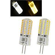 1 pcs  G4 6 W 64LED X SMD 3014 450-600 LM 2800-3500/6000-6500 K Warm White/Cool White Spot Lights AC 220-240 V