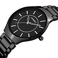 la bande de montre en acier du poignet quartz analogique des hommes SINOBI (couleurs assorties)