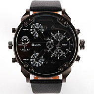 Men's Avtive Fashion PU Leather With Watches (Assorted Colors)