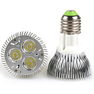 9W E26/E27 Riflettori PAR20 3 LED ad alta intesità 480-640 lm Bianco caldo / Luce fredda AC 100-240 V 1 pezzo