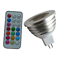4W GU5.3(MR16) LED Spot Lampen MR16 1PCS High Power LED lm RGB Dimmbar / Ferngesteuert / Dekorativ DC 12 / AC 12 V 1 Stück