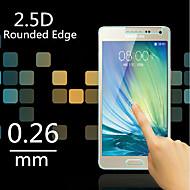 hoge kwaliteit 2.5d ronde rand 0,26 mm explosieveilige gehard glas screen film voor Samsung Galaxy a3