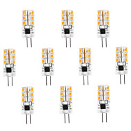 Spot LED Blanc Chaud / Blanc Froid 10 pièces G4 3W 24 SMD 2835 100-120 LM AC 100-240 V