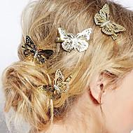 europeisk stil mode smycken härlig delikat fjäril hårnål brud huvudbonad (singel)