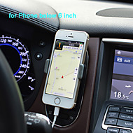 360 Degree Rotating Phone Holder in Car for iPhone and Others(Assorted Colors)