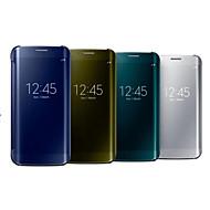 Pour Samsung Galaxy Note Miroir Coque Coque Intégrale Coque Couleur Pleine Polycarbonate pour Samsung Note 4