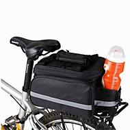 Cykeltaske 8LSkuldertaske Taske til bagagebæret/Cykeltaske Kompakt Multifunktionel Cykeltaske Kanvas CykeltaskeCampering & Vandring