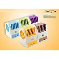 usb batteridrevet elektrisk klimaanlæg fan (tilfældig farve)
