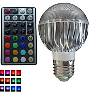 Lampadine globo 3 LED ad alta intesità SchöneColors® B GU10/E26/E27 8 W Intensità regolabile/Controllo a distanza/Decorativo 500 LM