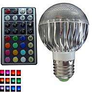 1pcs SchöneColors® E26/E27/GU10 8W 3X3W LED Dimmable/32Keys Remote-Controlled/Decorative Bulbs AC85-265V