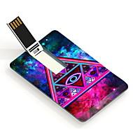 32GB Night Sky Triangle Design Pattern Card USB Flash Drive