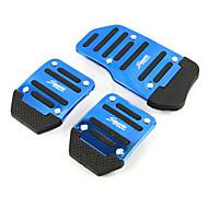 aluminium slip auto gaspedaal rempedaal pedalen geschikt voor handmatige auto (verschillende kleuren)