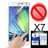 Ochraniacz na matowy ekran Samsung Galaxy a3 (7 szt)