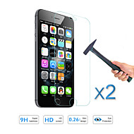 2pcs heißen Verkauf Qualitäts-Hartglas Folie Displayschutzfolie für Apple iPhone 6s / 6