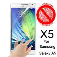 matte screen protector voor de Samsung Galaxy a5 (5 stuks)