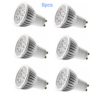 6pcs MORSEN® GU10 5W 350-400LM Support Dimmable Light LED Spot Bulb(110V)