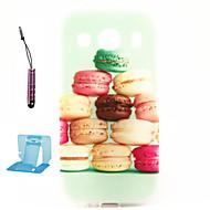 Mert Samsung Galaxy tok Minta Case Hátlap Case Rajzfilmfigura TPU Samsung Ace 4