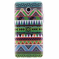 Voor Samsung Galaxy hoesje Patroon hoesje Achterkantje hoesje Geometrisch patroon TPU Samsung Core 2
