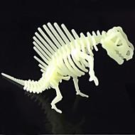 lysende dinosaur puslespil